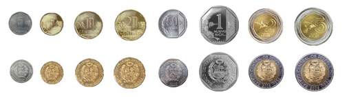 Bank coins in Peru | Best of Peru Travel