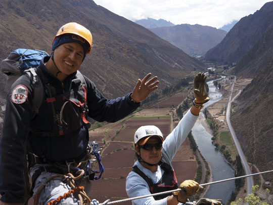 Sacred Valley Via Ferrata Zipline Adventure