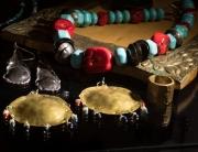 Esma Peruvian Jewellery Store Cusco close up of necklace