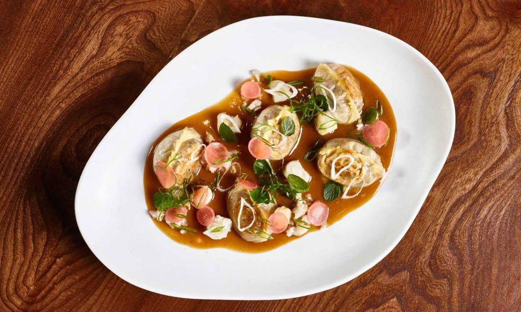 Astrid y Gaston Restaurant Lima Gyozas with Seafood CauCau