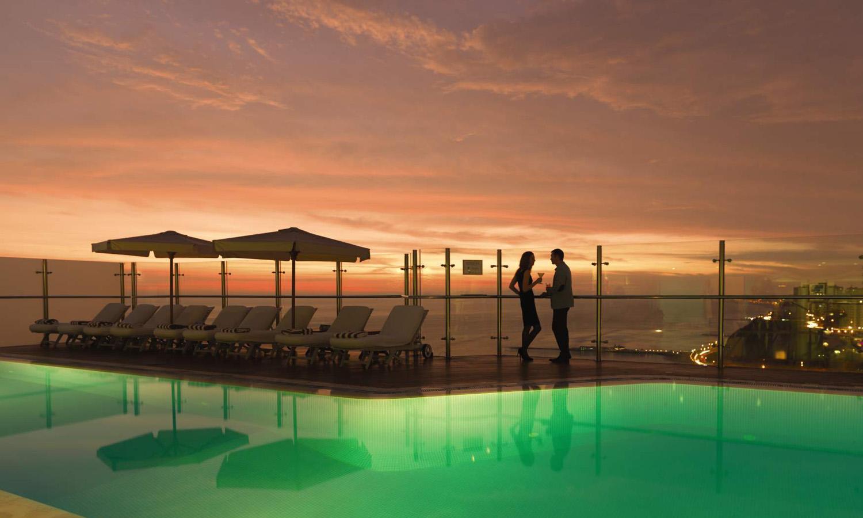 Belmond Miraflores Park Luxury Hotel in Lima Peru.