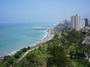 Malecon Lima Peru