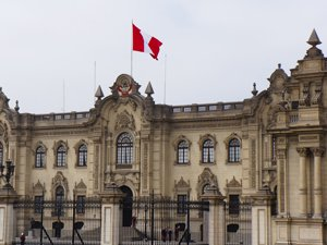 Presidential Palace in Lima Peru.