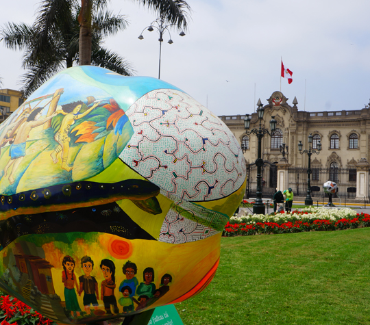Discover Lima history.