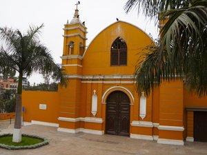 La Ermita Chapel in Barranco, Lima Peru.