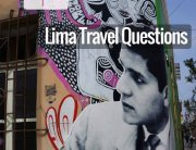 Top 10 Lima travel questions painting