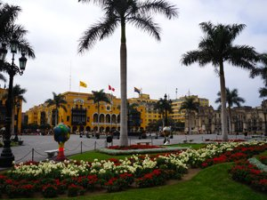 Plaza de Armas Lima's Historic Centre.