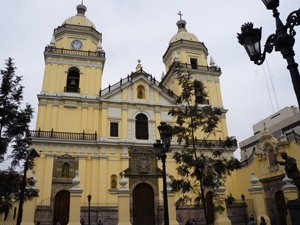 San Pedro Church in Lima's Historic Centre
