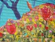 Barranco Street Art in Lima Peru.