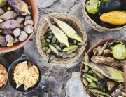 Pachamanca earth oven lunch at El Albergue Ingredients
