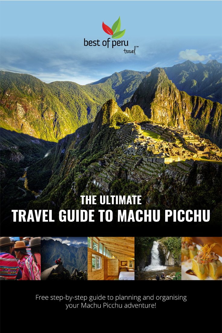 The Ultimate Machu Pichu Travel Guide Cover