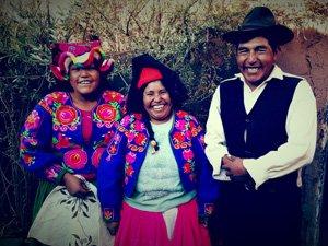 Celedonio Weaver Lake Titicaca Peru