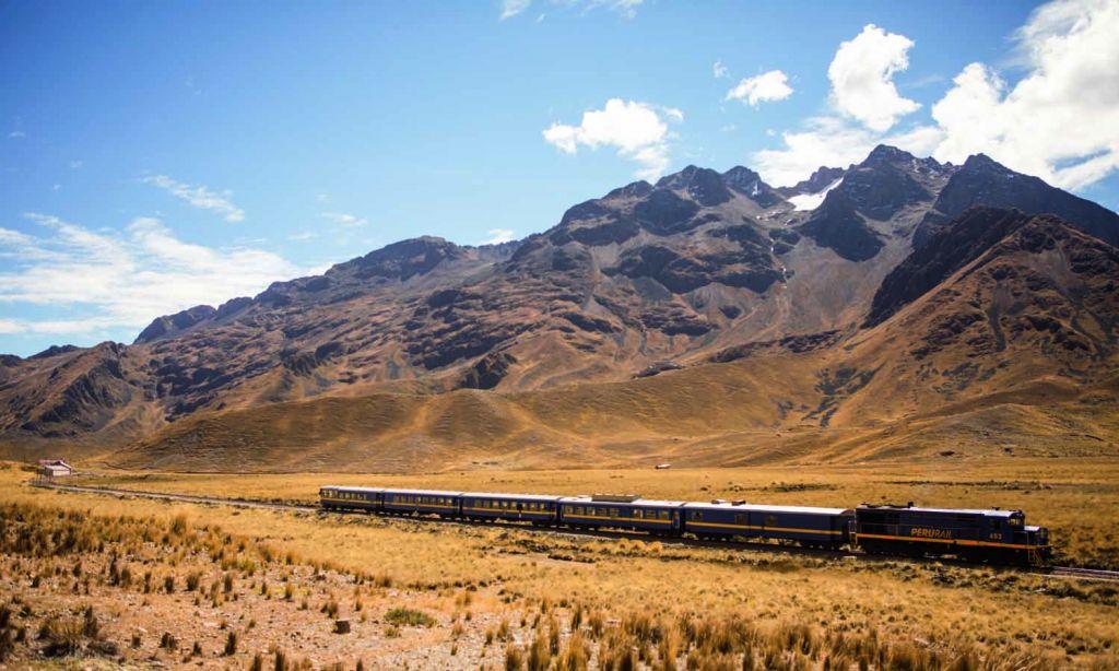 Peru Rail Titicaca Train Service Landscape