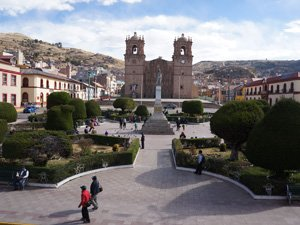 Puno Main Square - Best Things To See in Puno
