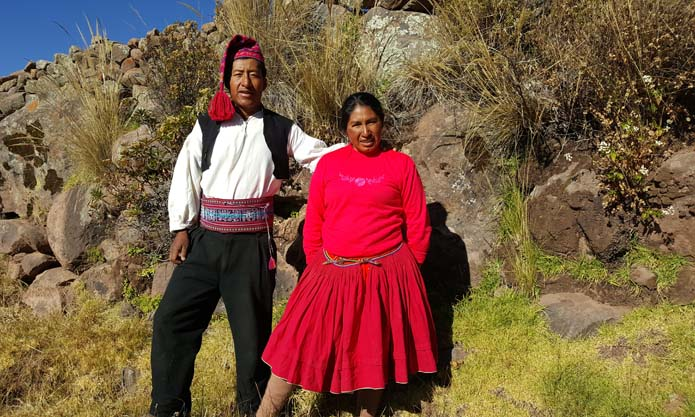 Homestay Accommodation on Taquile Island on Lake Titicaca