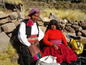 Taquile Island Locals - Things to see on Lake Titicaca