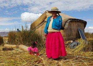 Uros Floating Islands Lake Titicaca