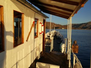 Yavari Floating B & B on Lake Titicaca
