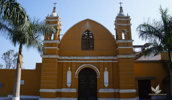 La Ermita Church Barranco | What to See in Lima in Two Days