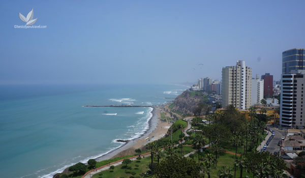 Lima Coastline | What to See in Lima in Two Days