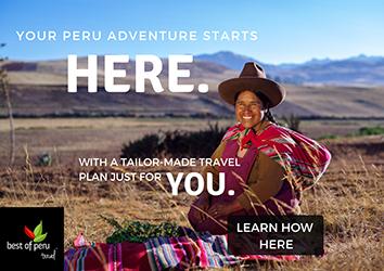 Peru Trip Planning Service Ad